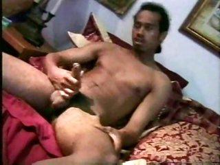 2 guys stroking
