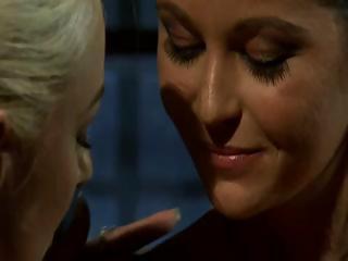 Lesbian cuties in prison
