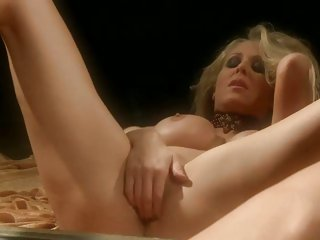 Succulent Julia Ann loves teasing her juicy moist clit