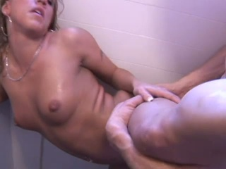 Three couple of eager sluts getting fucked in the shower !