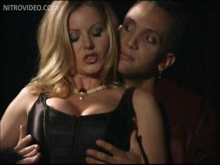 Slutty Babe T.J. Hart Gets Fucked Wearing Hot Black Lingerie