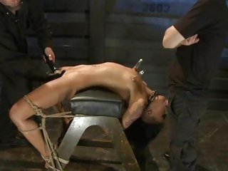 Whore Skin Diamond gets stuffed full of pork sword