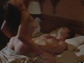 Stunning Busty Brunette Rhea Hanson-Nichollis' Hot Fuck Scene