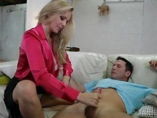Sexy momma Julia Ann is super sucking good