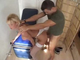 Doctor fucks his sexy blonde patient hard