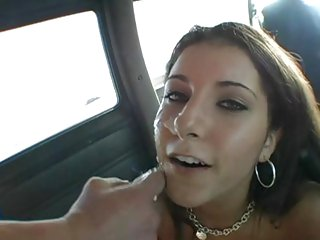 Vivacious Tiffany Summers gets a face full off cum