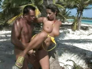 Sexy Milf Gets Her  Hairy Pussy Jammed Outdoors