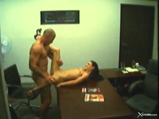 Rampant brunette acquires her moist cunt crammed with cock