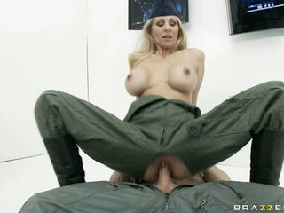 Fucking bitch Julia Ann is having the consummate fuck she always wanted and craved