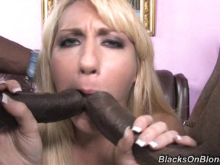 Luscious Missy Woods acquires her mouth stuffed with jock