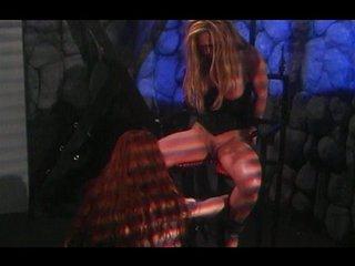 Lesbian BDSM torment will get u horny