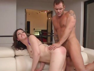 Sarah Shevon gets her moist snatch stuffed with cock