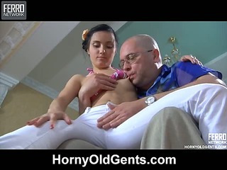 Veronica&LeonardB oldman sex video