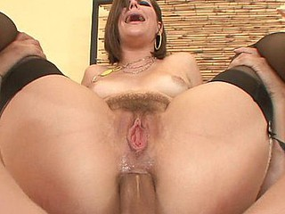 Bobbi Star used to be such a timid juvenile housewife previous to this babe got into porn.  Now this babe acts like a completely perverted dong slut who can't get sufficiently of that unfathomable anal action.  That Babe gets her bunghole plugged and gaped wide in her usual slutty fashion.