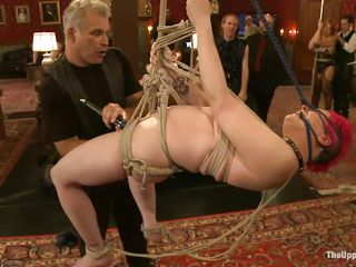 This hot milf thought that she owned the world. However, the master is making sure that she looses all such pretenses and concentrate on one thing only, which is to please the cock. Therefore, he makes her go through a set of exercises in humility by humiliating her and teasing her body to get the best out of her.
