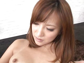 Kokone is a very beautiful Nippon milf and her passion for a good fuck is all that we need to see. Enjoy watching her and how the man inserts a sex toy in her anus making this beauty so horny that she slides his dick in her throat before enjoying a deep hard fuck from behind. What a lustful beauty