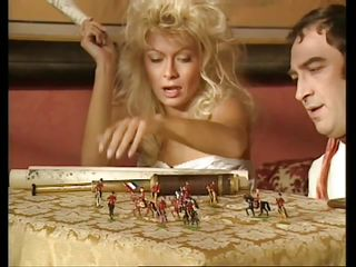 People liked to fuck dirty in the napoleon age just like they used to do now. Check out this guy and how he plays with his gorgeous blonde before getting down and dirty with her. Yeah, this beautiful milf likes playing games before opening her mouth in front of a hard cock. Let's see how the game will continue