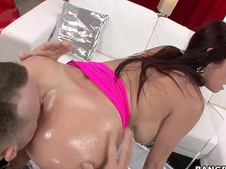 We have the infamous Tiffany Mynx in the abode this day. Now if u have at no time heard of her your absolutely lost, rotfl. This Babe absolutely likes to fuck and that babe completely can't live without to put large things in her a-hole. So I invited my homie and his large dick over to pound her good pretty anal opening to sleep. Let me tell u that if anyone is getting put to sleep its my guy, haha. This Babe knows exactly what to do and what to say and the flawless time when to say it to make u absolutely bust a load. that babe is a ideal definition of a professional porn star.