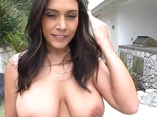 Gorgeous beauty has beautiful fuck holes for playing