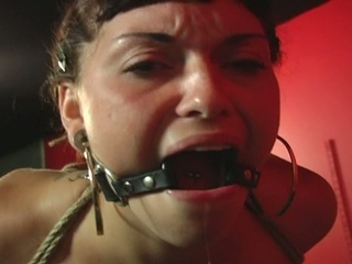 Lovely sex serf abducted and fucked