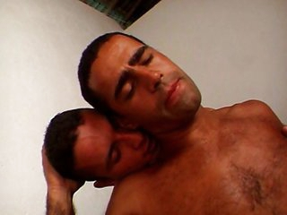 Two Brazilians fucking each other in the ass