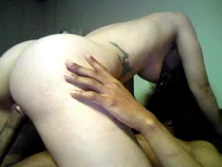 Pussy is so creamy as she rides him